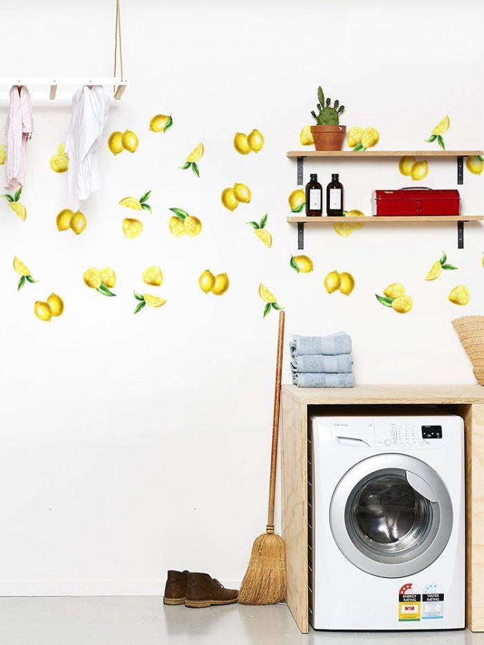 adesivo de parede limão