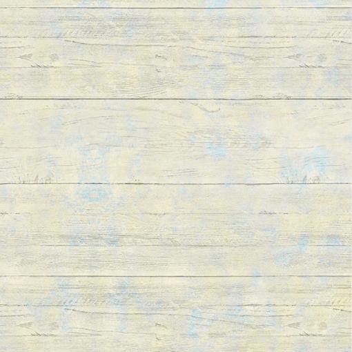 Papel de parede campeche azul e amarelo