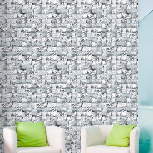 Adesivo papel de parede cubos de gelo