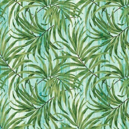 Papel de parede folhagens tropical