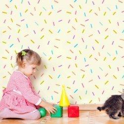 Papel de parede granulado colorido fundo creme