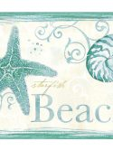 Faixa decorativa conchas do mar