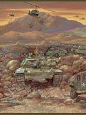 Faixa de parede militar