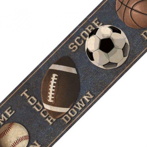Faixa decorativa Bolas Esportivas