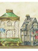 Faixa de parede casinhas de passarinho