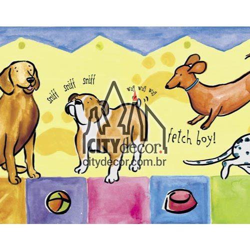 Faixa de parede Cachorrinhos