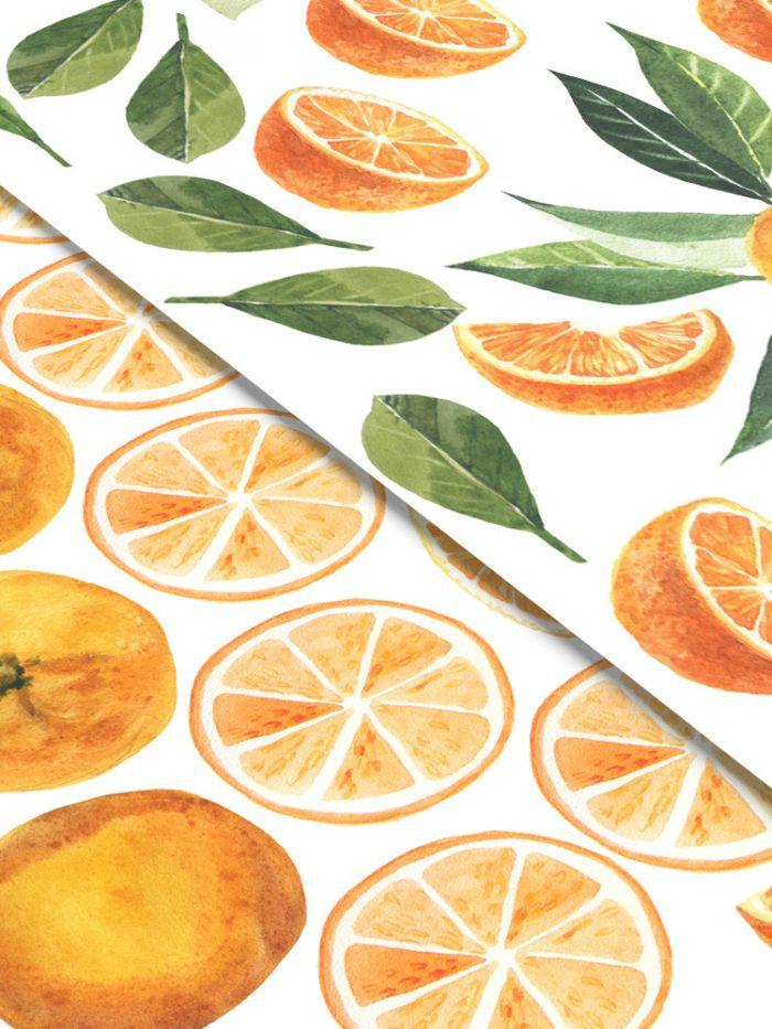 adesivo de parede para cozinha fruta
