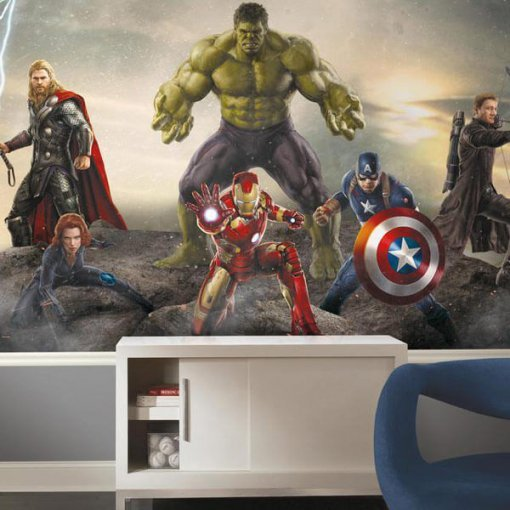 Painel adesivo The Avengers