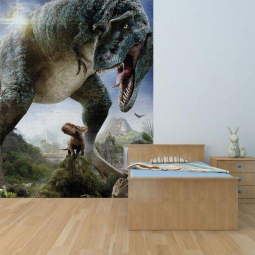 Painel adesivo Caminhando com Dinossauros