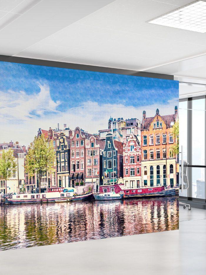 Painel fotográfico Amsterdam