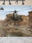 Painel fotográfico papel de parede helicóptero militar israelense