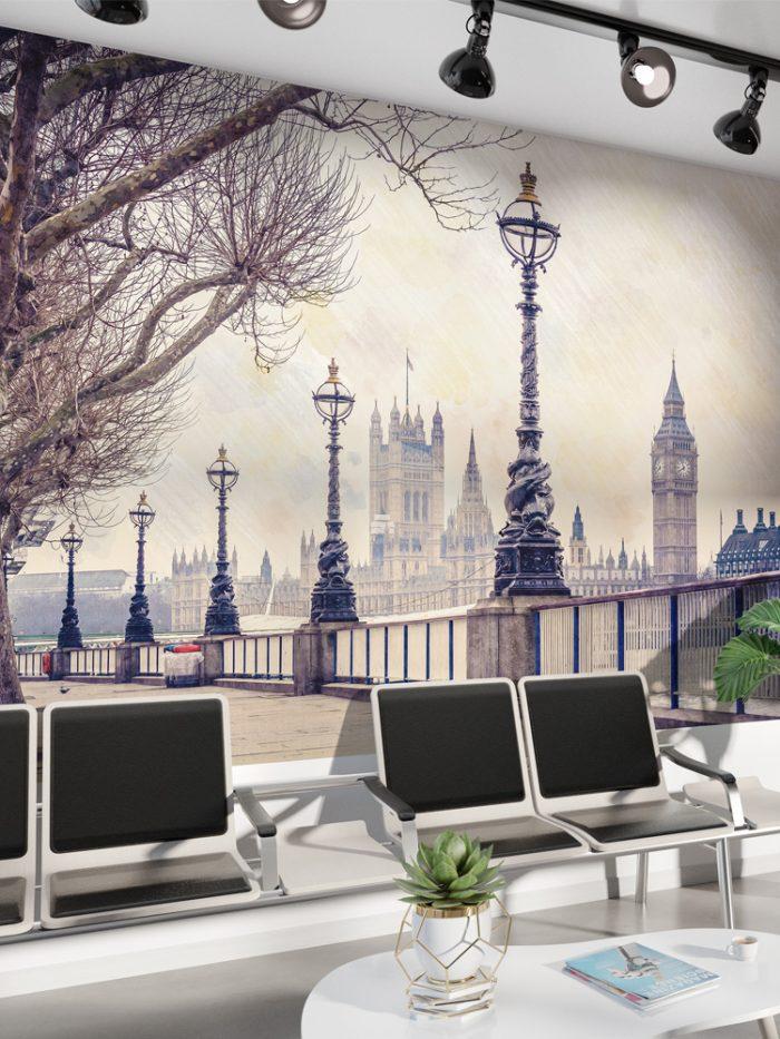 Painel fotográfico Londres