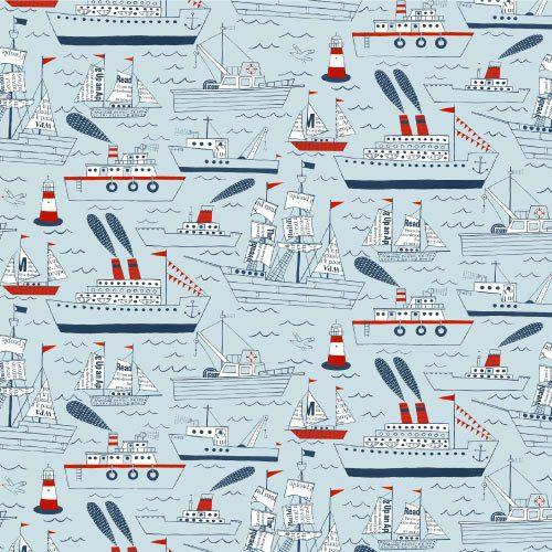 Adesivo Barcos e navios