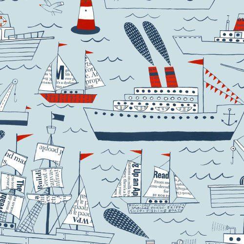Barcos e navios - detalhe