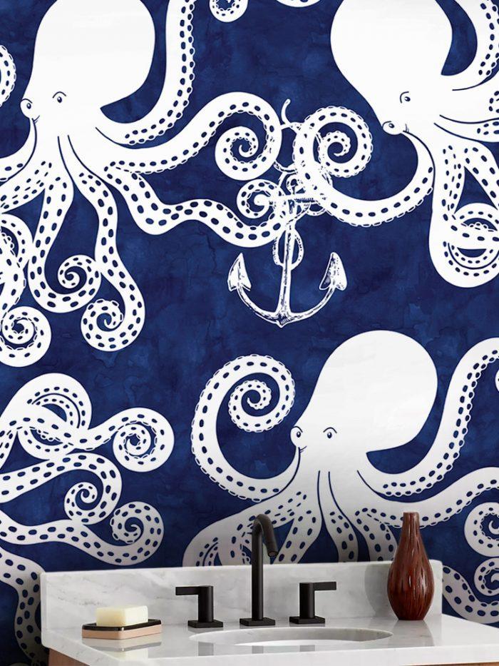 Papel de parede adesivo polvos