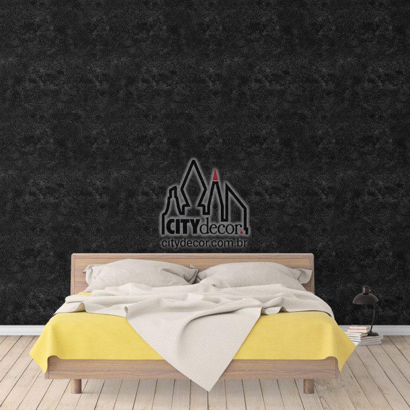 Papel de parede preto para quarto