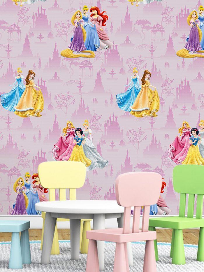 Papel de parede princesas Disney