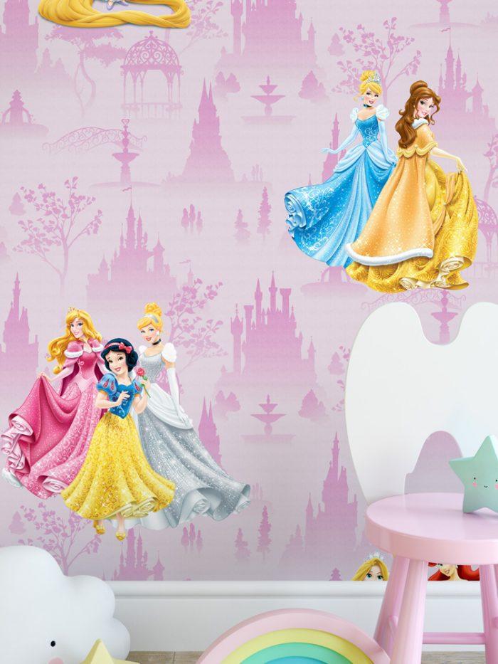 Papel de parede princesas